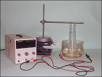 fotografia de um voltâmetro