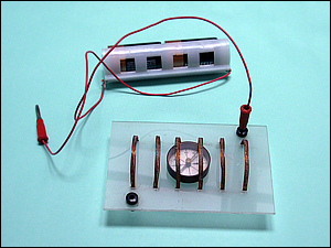 Experiência de Oersted com circuito aberto