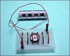 Experiência de Oersted com circuito fechado
