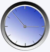 relogio com divisão de 5 em 5 minutos