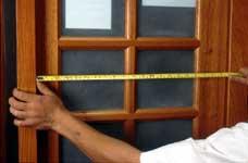 medindo com trena uma janela