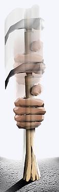 Encaixando o martelo